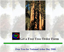 Free Tree for National Arbor Day 2008