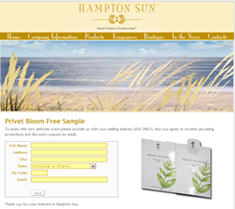 Free Sample of Hampton Sun's Privet Bloom