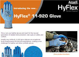 Free Sample of Hyflex Gloves