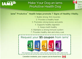 Free $5 Coupon from Iams