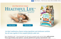 Free Sample of Purina Cat Chow Healthful Life