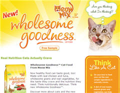 Free Meow Mix Cat Food Walmart Sample