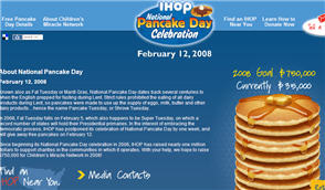 Free IHOP Pancakes on 2/12