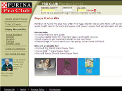 Free Purina Puppy Starter Kits