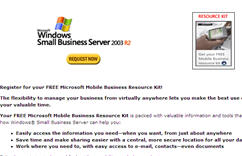 Free Microsoft Mobile Business Resource Kit