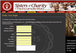 Free Sisters of Charity Angel