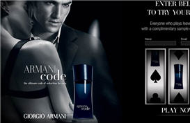 Free Sample of Armani Code Fragrance
