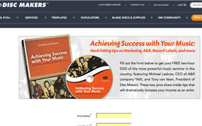 Free Achieving Success with Your Music DVD