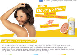 Free Dove Go Fresh Walmart Sample