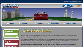 Free Ford Driving Skills for Life DVD
