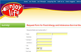 Free Food Allergy and Intolerance Survival Guide