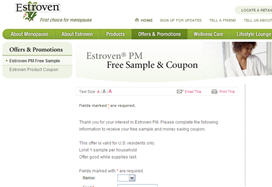 Free Estroven PM Sample and Coupon