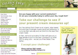 Free Sample of Gilden Tree Nourishing Foot Cream