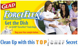 Free GLAD® ForceFlex® Trash Bags