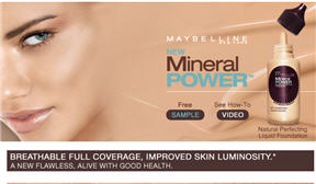 Free Sample of Maybelline Mineral Power Liquid Foundation