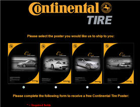 Free Poster from Continental Tires