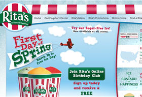 Free 10 oz. Italian Ice from Rita's Tomorrow 3/20