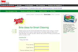 Free Samples from Scotch-Brite® Brite Idea