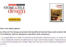 Free Contemporary Stone & Tile Design Magazine