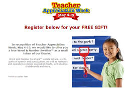 "Free Word and Number Swattersâ""¢ for Teachers"