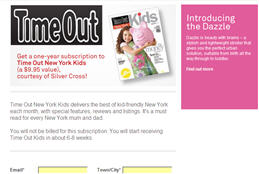 Free Time Out New York Kids Magazine