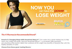 Free Sample of Dexatrim® Max2O™ Diet Supplements