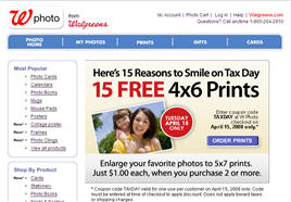Free 4×6 Prints at Walgreens Today Only