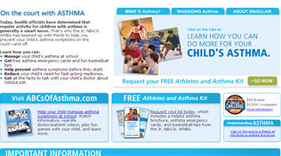 Free Athletes And Asthma Kit