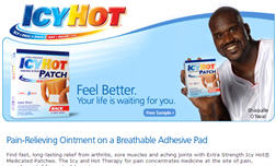 Free Sample of Icy Hot 1 Count Back Patch