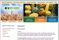 Free North Dakota Wheat Posters and Recipes