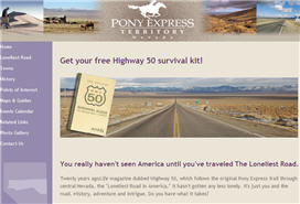 Free Nevada Highway 50 Survival Kit
