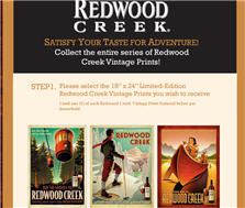 Redwood Creak Prints