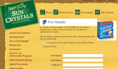 Free Sample of Lactaid Supplements