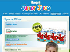 Free Hansen's Organic Junior Water Coupon