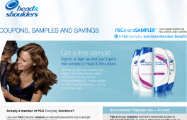 Free Sample Of Head & Shoulders Sampoo