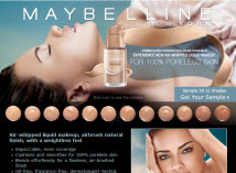 Free Sample Of Maybelline Liquid Mousse