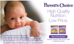 Free Parents Choice Baby Formula Sample