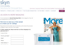 Free Skyn Iceland Glacial Cleansing Cloths