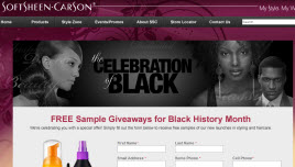 Free Softsheen Carson Hair Care Sample