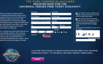 Free 7-Day Ticket to Universal Orlando Resort Theme Parks