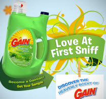 Free Gain Detergent Sample