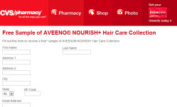 Free AVEENO® NOURISH Hair Care Collection Sample