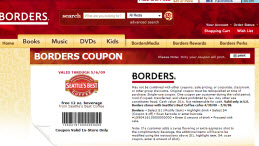 Free Seattles Best Coffee at Borders Stores Coupon