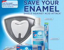 Free Sample of Crest Pro-Health Enamel Shield
