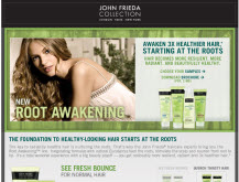 Free John Frieda Root Awakenings Sample