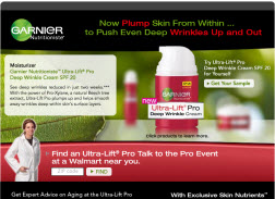 Free Sample of Garnier Nutritioniste Deep Wrinkle Cream