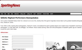 Free Gillette Deodorant Sample Sweep Entry
