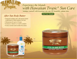 Free Sample of Hawaiian Tropic Sun Care