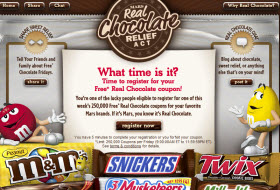 Free Mars Real Chocolate Coupon