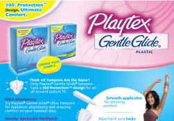 Free Sample of Playtex® Gentle Glide